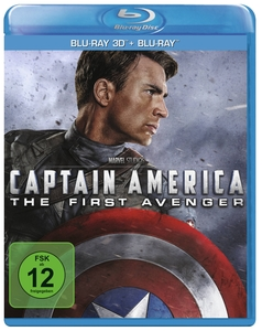 Captain America - The First Avenger 3D, 1 Blu-ray | Dodax.at