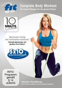 10 Minute Solution: Complete Body Workout, 1 DVD | Dodax.ch