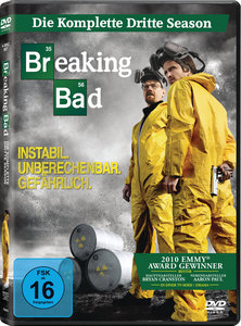 Breaking Bad. Season.3, 4 DVDs | Dodax.de