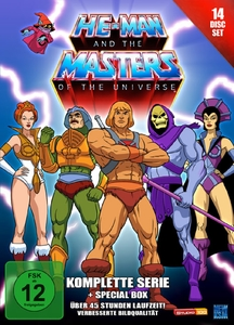 He-Man and the Masters of the Universe - Gesamtbox, 14 DVD | Dodax.at