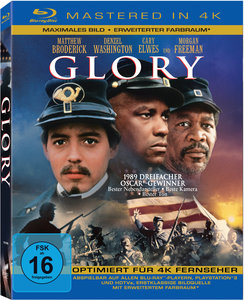 Glory, Mastered in 4K, 1 Blu-ray | Dodax.ch