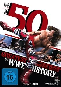 50 GREATEST FINISHING MOVES IN WWE HISTORY, 3 DVDs | Dodax.ch