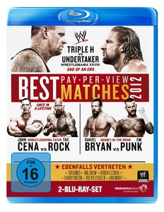 BEST PPV MATCHES 2012, 2 Blu-ray   Dodax.at