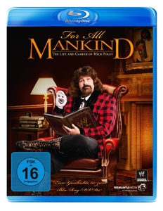 For all Mankind: The Life & Career Of Mick Foley, 2 Blu-ray | Dodax.at