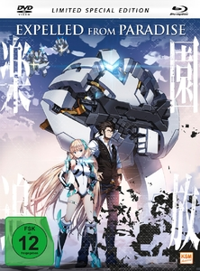 Expelled From Paradise, 1 DVD + 1 Blu-ray (Limited Special Edition - Mediabook) | Dodax.at