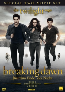 Twilight Saga 4.1 Extended und 4.2 Box DVD | Dodax.at