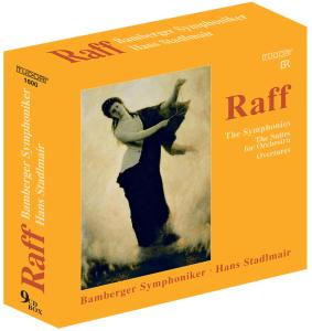 Raff: The Symphonies; The Suites for Orchestra; Overtures | Dodax.fr