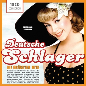 Deutsche Schlager, 10 Audio-CDs | Dodax.at