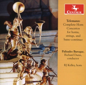 Telemann: Complete Horn Concertos for horns, strings, and basso continuo | Dodax.ch