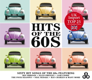 Hits of the 60's, 3 Audio-CDs | Dodax.at