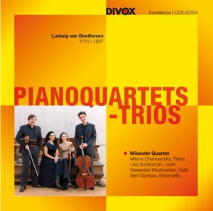 Beethoven: Pianoquartets - Trios | Dodax.at
