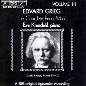 Grieg: The Complete Piano Music, Vol. 3 | Dodax.ch