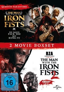 The Man with the Iron Fists 1 & 2, 2 DVDs | Dodax.ch