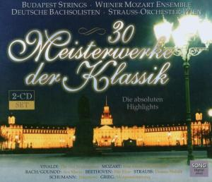 30 Meisterwerke der Klassik, 2 Audio-CDs. Vol.1 | Dodax.at