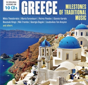 Greece - Milestones Of Traditional Music, 10 Audio-CDs | Dodax.at