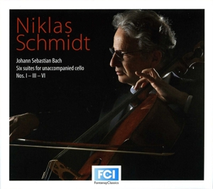 Bach: Six suites for unaccompanied cello Nos. 1, 3 & 6  | Dodax.it