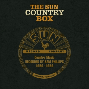 Sun Country Box: Country Music Recorded by Sam Phillips 1950-1959 | Dodax.nl