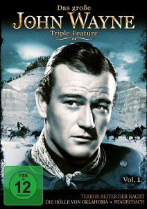 Das Große John Wayne Triple Feature Vol.1, 1 DVD. Vol.1 | Dodax.at