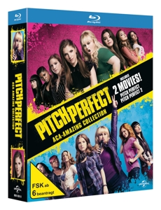 Pitch Perfect 1 & 2, 2 Blu-ray | Dodax.de