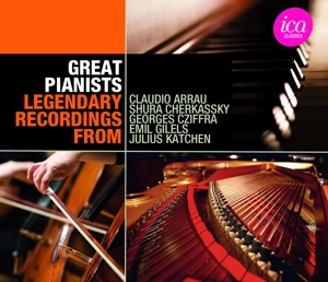 Great Pianists: Legendary Recordings | Dodax.es