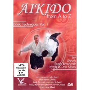 Aikido from A to Z - Basic Techniques 1   Dodax.de
