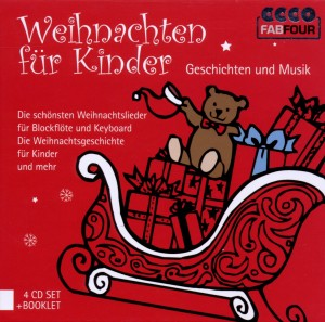 Weihnachten für Kinder, 4 Audio-CDs | Dodax.at