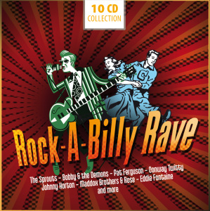 Rock-A-Billy Rave, 10 Audio-CDs | Dodax.at