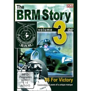 The BRM Story Vol.3: V8 For Victory | Dodax.es