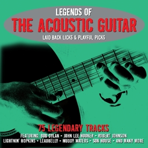 Legends Of The Acoustic Guitar | Dodax.es