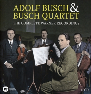 Adolf Busch & Busch Quartet: The Complete Warner Recordings | Dodax.at