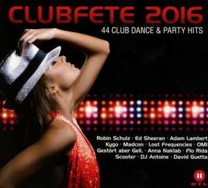 CLUBFETE 2016-44 CLUB DANCE&PATY HITS | Dodax.com