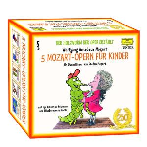 5 MOZART-OPERN (5CD-SET) | Dodax.it