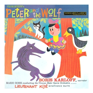 Peter and the Wolf/Lieutenant Kije Sui | Dodax.co.uk