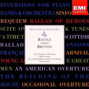 Rattle Conducts Britten | Dodax.ch