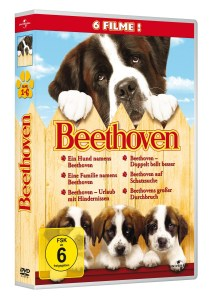 Beethoven 1-6, 6 DVDs   Dodax.at