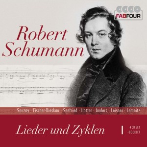 Lieder und -zyklen. Art Songs and Cycles, 4 Audio-CDs | Dodax.at