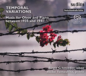 Temporal Variations: Music for Oboe and Piano between 1935 and 1941 | Dodax.co.uk