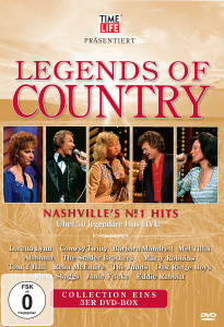 Legends of Country, 3 DVDs | Dodax.ch