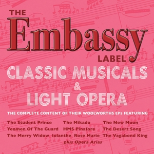 Embassy Label: Classic Musicals & Light Opera | Dodax.co.uk
