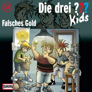 Die drei ???-Kids - Falsches Gold, 1 Audio-CD | Dodax.ch