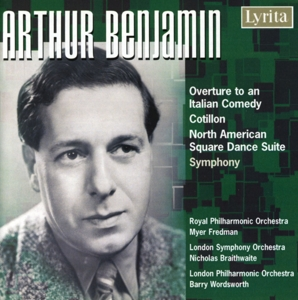 Arthur Benjamin: Overture to an Italian Comedy; Cotillon; North American Square Dance Suite | Dodax.es