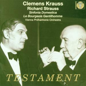 Strauss: Sinfonia Domestica; Le Bourgeois Gentilhomme | Dodax.ch