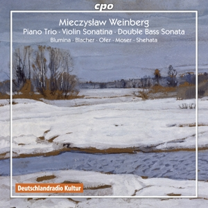 Mieczyslaw Weinberg: Piano Trio; Violin Sonatina; Double Bass Sonata | Dodax.at