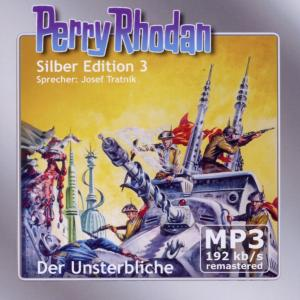 Perry Rhodan, Silber Edition - Der Unsterbliche, 2 MP3-CDs | Dodax.at