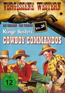 The Range Busters Cowboy Commandos, DVD | Dodax.at