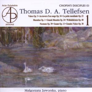 Tellefsen Thomas D.A. - Complete piano works I | Dodax.at
