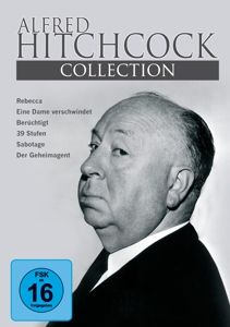 Alfred Hitchcock Collection 6 Filme, 3 DVDs | Dodax.ch