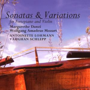 Danzi, Mozart: Sonatas & Variations for Fortepiano and Violin | Dodax.es