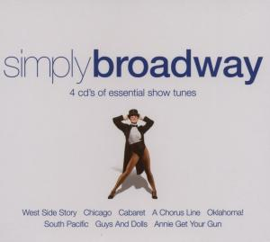 Simply Broadway: 4 CD's of Essential Show Tunes | Dodax.it
