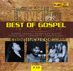 Best of Gospel, 2 Audio-CDs | Dodax.ch